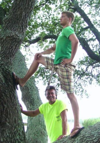 Brian in a tree