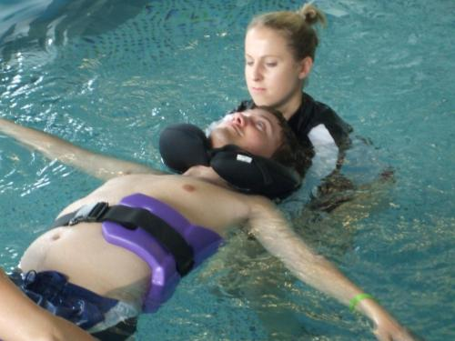 Aquatherapy at KKI