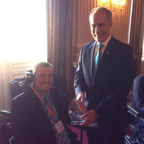 Brian and Senator Casey