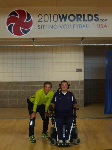 Paralympic sitting Volleyball coach